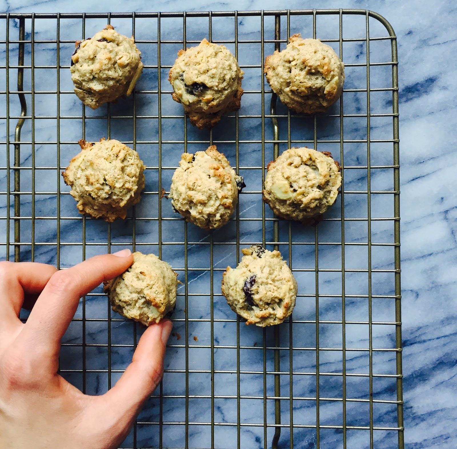Tahini, oat + coconut cookies { gluten-free + vegan }   Urban ...