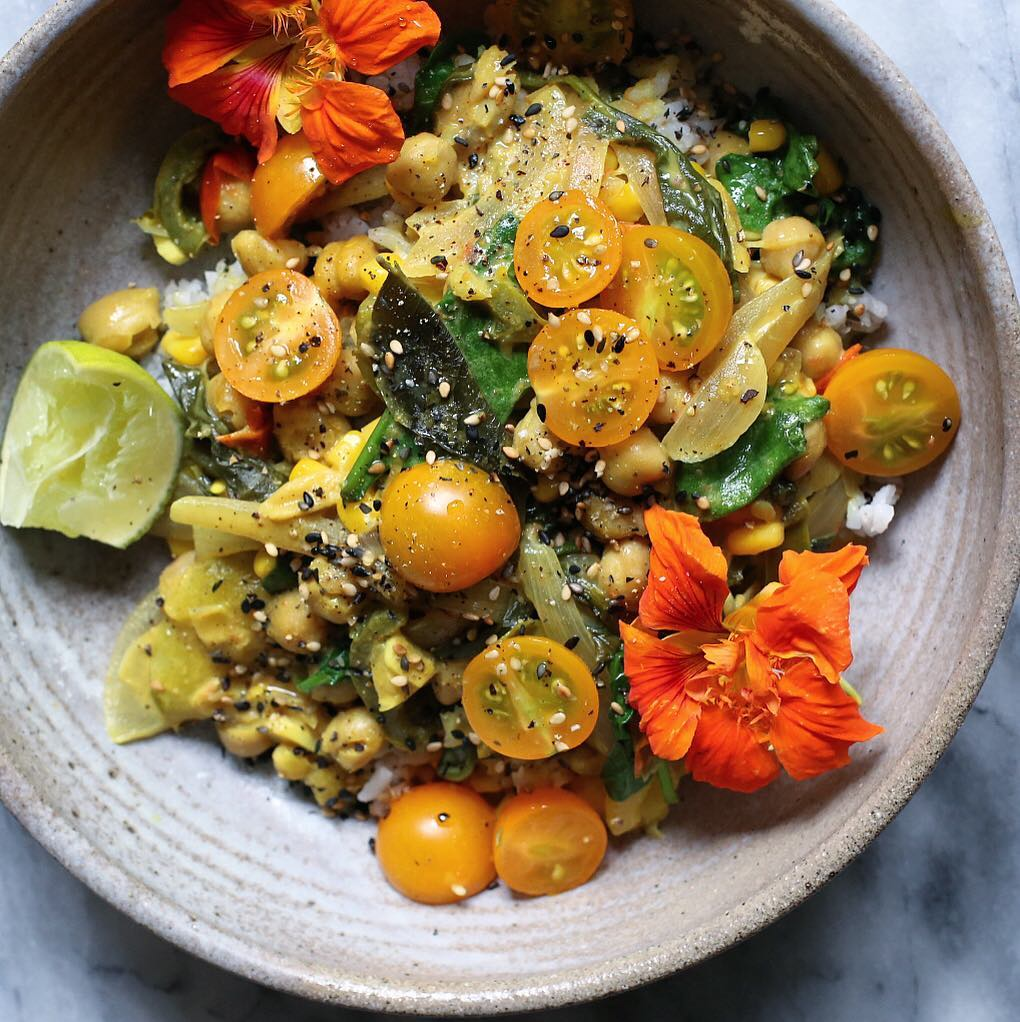 summer veg curry